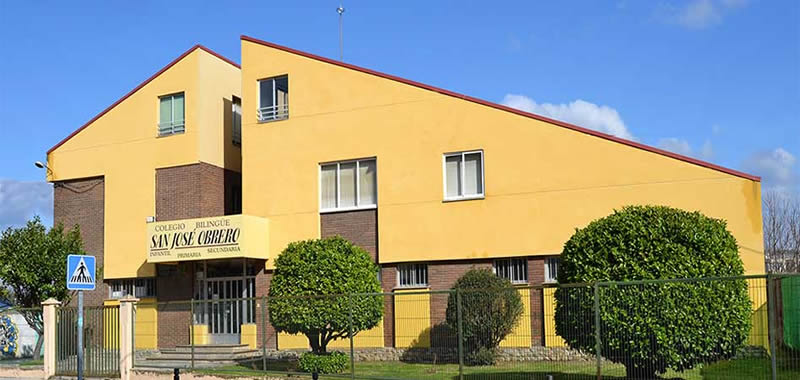 Colegio San José obrero en Ponferrada